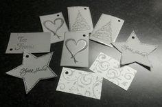 Joulupakettikortteja