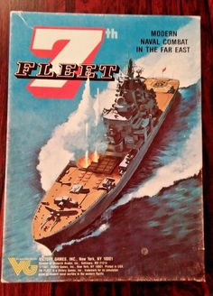 7th Fleet Modern Naval Combat in the Far East Victory Games 1987  HUGE SALE- $127.49 #VictoryGamesInc
