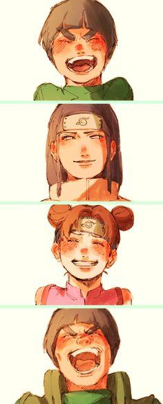 Equipo 1- Naruto by Masayi Kishimoto manga • concept art, #manga #historieta…