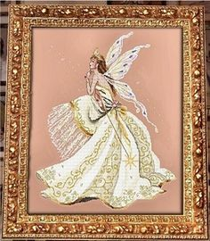 The Queen of Fairies Counted Cross Stitch Pattern