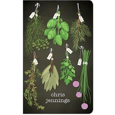 Make this Herbs Custom Journal your very own!