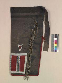 Леггинсы, Черноногие. 1910 год. Вид 2.