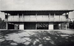 Kenzo Tange's first and only house of 1953.