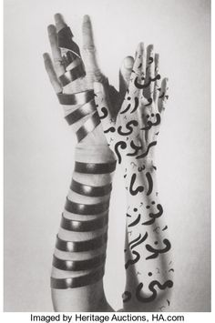 View Hands by Shirin Neshat on artnet. Browse more artworks Shirin Neshat from Kenneth A. Friedman Co. Shirin Neshat, Louise Bourgeois, Persian Calligraphy, Calligraphy Print, Calligraphy Alphabet, Islamic Calligraphy, Caligraphy, New Media Art, Black White