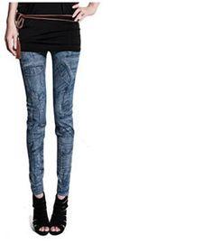 S-XL New 2014 Autumn Fashion Pants for Women Plus Size Plus velvet Jeans Hole Pleated Prints Pants Casual Leggings 14 Colors