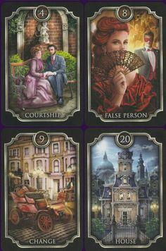 Love these tarot cards by Ciro Marchetti