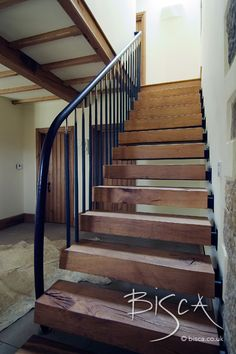 oak cantilever house beautiful staircase for barn