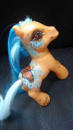 OOAK Custom My little pony Leire by Ambar #Hasbro