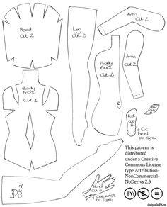 Текстильная шарнирная кукла своими руками выкройки и схемы