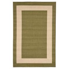Terrace Indoor/Outdoor Border Rug