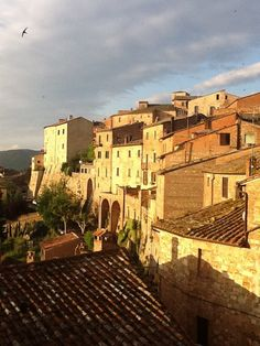 View on #Montepulciano from Locanda San Francesco (picture made by one of our Guests !) +www.locandasanfrancesco.it