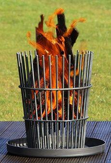 Einfache Variante - Feuerkorb gesehen bei www.ricon-manufaktur.de