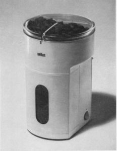 Mahlwerkkaffeemühlen, KMM 2    iF DESIGN AWARD 1970, Discipline Product