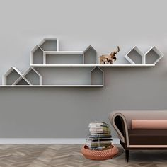 citybook modular wall shelf storage