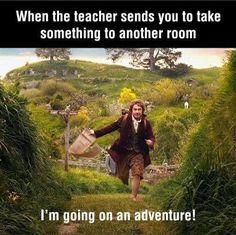 @Rachel Boyd ... is this what you feel like when you are asked to run an errand for a teacher?