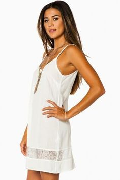 Nella Dress in Off White