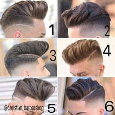 @christian_barbershop - #MENSHAIRWORLD  Choose your favorite hairstyle  by menshairworld
