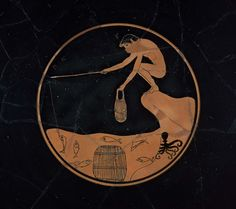 Drinking cup (kylix), the Ambrosius Painter | Museum of Fine Arts, Boston
