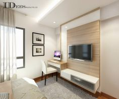 Bestudeer HDB DBSS @ Parkland Residences – Interior Design Singapore – Home design – Welcome The uniteTv Bedroom Tv Unit Design, Tv Console Design, Tv Unit Bedroom, Living Room Tv Unit, Master Bedroom Design, Modern Tv Unit Designs, Study Table Designs, Tv Feature Wall, Feature Wall Design