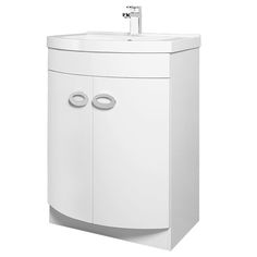 Orion Modern Curved Floor Standing Unit With Basin Contemporary, Modern, Filing Cabinet, Basin, The Unit, Flooring, Storage, Bathroom Ideas, House