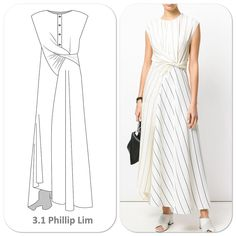 A different twist to the wrap shirt dress ? for A different twist to the wrap shirt dress ? Dress Design Drawing, Dress Drawing, Kleidung Design, Model Outfits, Work Outfits, Casual Outfits, Wrap Shirt, Fashion Design Sketches, Fashion Sewing