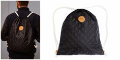 'Adult Quilted Drawstring Backbag' byAnny Who. http://t-h-i-n-g-s.blogspot.com