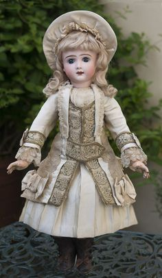 RESPECTFULBEAR on Ruby Lane http://www.rubylane.com/item/587557-RL-01028/20-50-cm-Very-Antique #antiquedoll