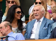 Pin for Later: We Played Spot the Celebrity Tennis Fan at Wimbledon Sir Bruce Forsyth