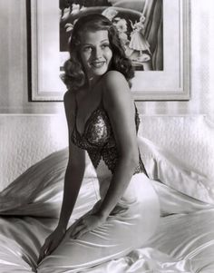 Between 1941 and 1945, Rita Hayworth became one of the most popular pin-ups for soldiers during World War II.