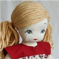 Doll Hair Tutorial...love these eyes and hair for maddy's doll