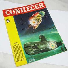 Antiga Enciclopédia Semanal Ilustrada Conhecer Nº 8 De 1966