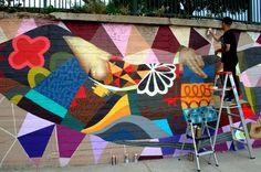 Concrete Canvas – Brazilian and Denver Artists Paint the Cherry Creek Path