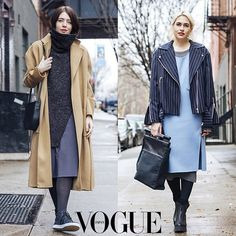 ANTHOM on the streets - Vogue Japan wearing Low Classic #streetstyle #vogue #outfit #ootd #ANTHOM