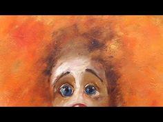 Мастер-класс на двух холстах. Клоуны. Clowns. Master class on two canvases by Oleg Buiko - YouTube