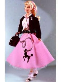 Poodle Skirt Barbie
