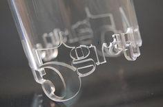 laser cut acrylic tube