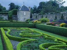 Pitmedden Gardens Were Designed in Seventeenth Century by Alexander Seton, Formerly Lord Pitmedden