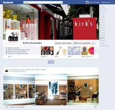 Kirk's - Facebook Linha do Tempo