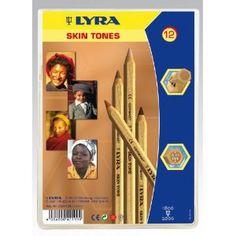 Lyra 3931124 Farb-Riese Skin Tones Etui K12 Kartonetui mit 12 Stück: Amazon.de: Spielzeug
