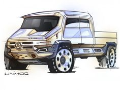 Daily Sketch: Unimog by Michael DiTullo gallery: http://www.carbodydesign.com/featured-design-sketches?utm_content=buffer0f9f4&utm_medium=social&utm_source=pinterest.com&utm_campaign=buffer?utm_content=buffer0f9f4&utm_medium=social&utm_source=pinterest.com&utm_campaign=buffer  Michael's FB page: https://www.facebook.com/MichaelDiTullo/