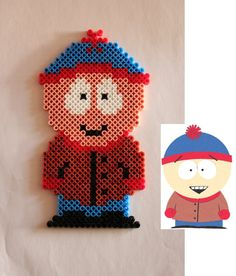 South Park - Stan Marsh hama perler beads by Xeina-rose-of-death