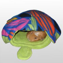 Sewing for a Cause - Turtle House and other guinea pig cavy crafts, cage accessories, etc.
