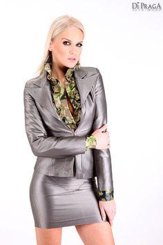 "MV6 Ruffled Techno Blouse ""Glamorize"", Business Costume ""Shyne"""
