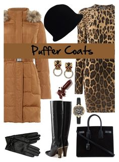 """Stay Warm: Puffer Coats"" by the-geek-goddess ❤ liked on Polyvore featuring Dolce&Gabbana, Phase Eight, LAQA & Co., Chanel, Kenneth Jay Lane, Hobbs, Yves Saint Laurent and Marc Jacobs"