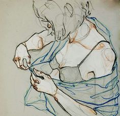 1000drawings - Take Your Clothes Off by Adara Sánchez