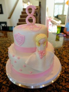 padicakes: Sweet Bailey's 8th Birthday and Baptism