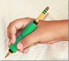 Making a Comfortable Weighted Pencil