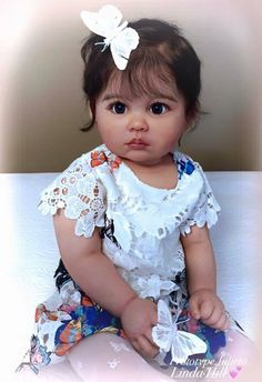 baby doll Julieta by Ping Lau - Online Store - City of Reborn Angels Supplier of Reborn Doll Kits and Supplies Reborn Babypuppen, Reborn Doll Kits, Reborn Dolls For Sale, Child Doll, Girl Dolls, Barbie Dolls, Barbie Clothes, Silikon Wiedergeborene Babys, Reborn Dolls Silicone