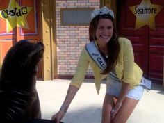 Miss California Teen USA visits SeaWorld San Diego