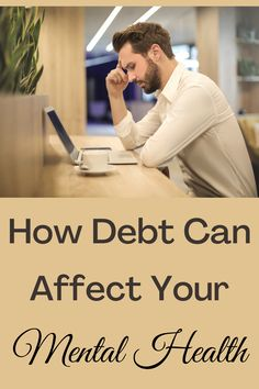Debt can cause extreme stress for any individual. . . . #NavicoreSolutions #mentalhealth #financialanxiety #debt #finances #credit #creditcounseling